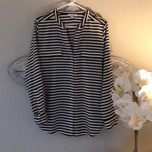 Calvin Klein striped tunic